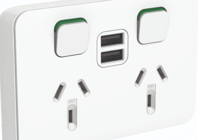 Iconic USB Charging